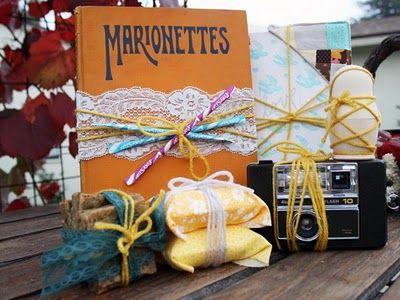 scrumdillydilly: creative gift wrap