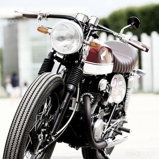Honda CB350 custom #moto