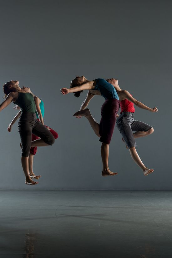 Joy with Batsheva ensemble at Edinburgh Festival!