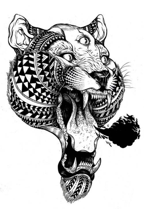 Interesting tattoo design. #tattoos #tattoo #ink