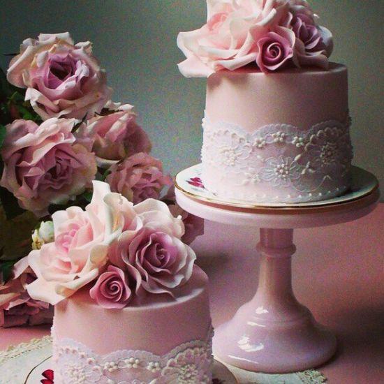 weddingishdotcom:    #cakeinspiration #cake #pinkcake #bridalshowerinspiration #weddinginspiration #pinkcake #pink #pinkinspiration #prettypink #whitelace #cakedetails #cakedecor # #weddinginspiration #bridalinspirstion #bride #bridal #wedding #petitecake #minicake #igers #igdaily #instawedding #instaprink