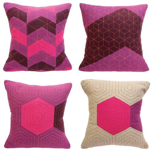 Provide Home recently designed a new collection of graphic pillows.