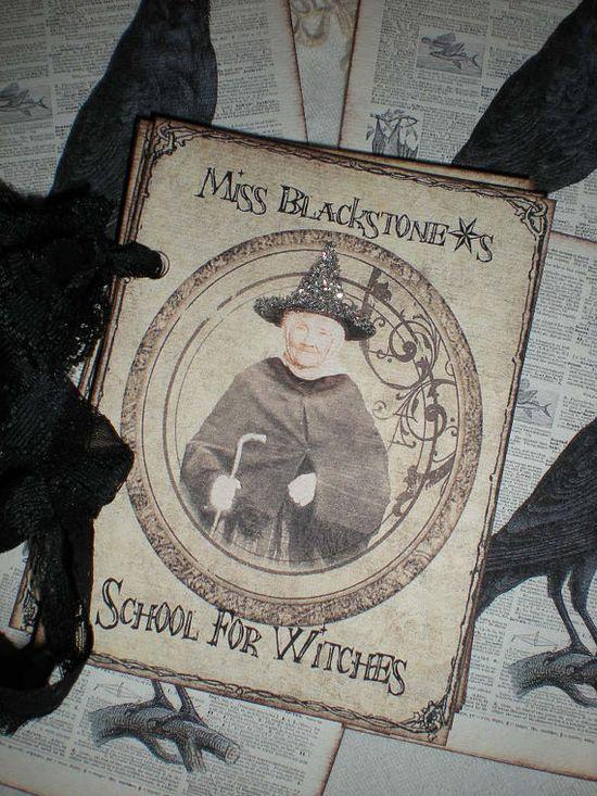 Witches Handbook Halloween decoration