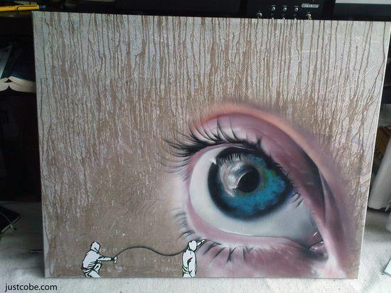 JustCobe Graffiti art