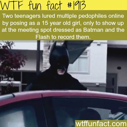 Two teenagers lured multiple pedophiles… -WTF fun facts