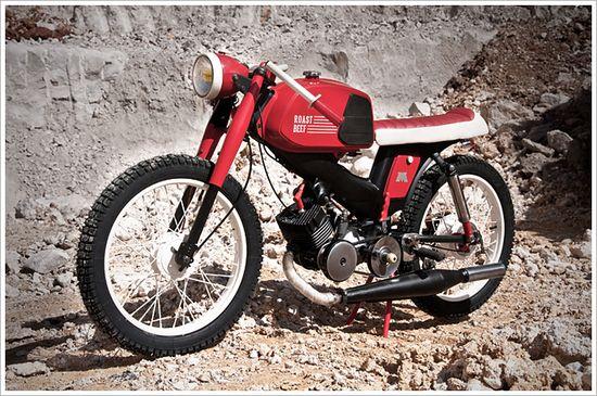 "Children of Decadence Motobecane SP98 - ""RoastBeef"" - Pipeburn - Purveyors of Classic Motorcycles, Cafe Racers & Custom motorbikes"