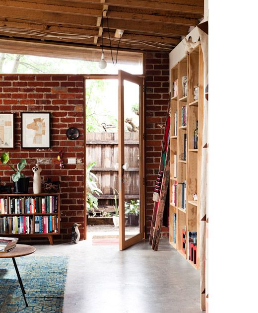Front entrance. Photography -Sean Fennessy, styling / production – Lucy Feagins / The Design Files.