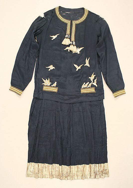 1920s Dress. Paul Poiret.