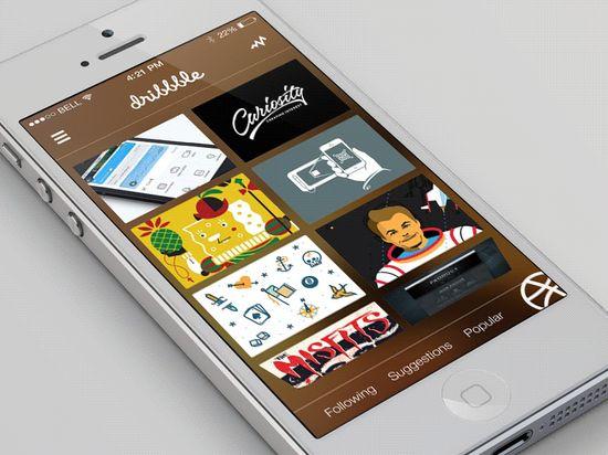 Dribbble_app