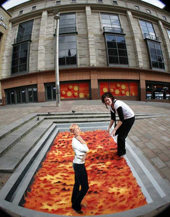 Top 10 Amazing 3D Street Art Collection