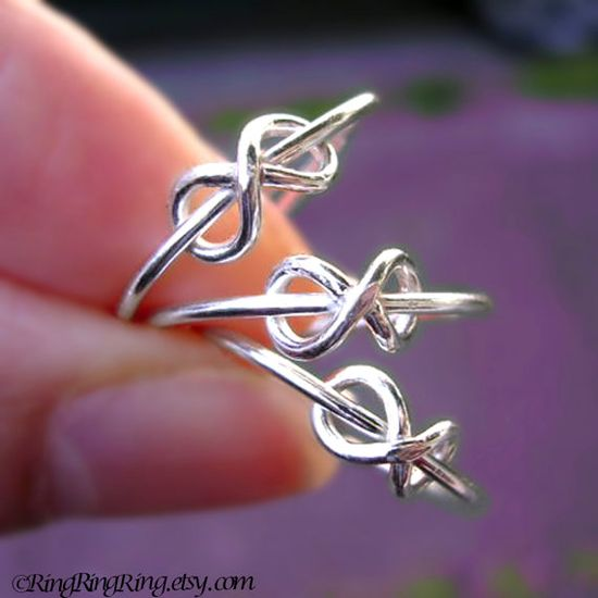 Beautiful Infinity Rings