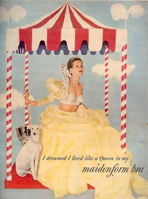 Maidenform Bra #vintage #advertisement