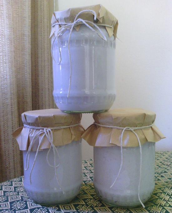 Handmade liquid soap, nice and packaged for Mother's Day ?