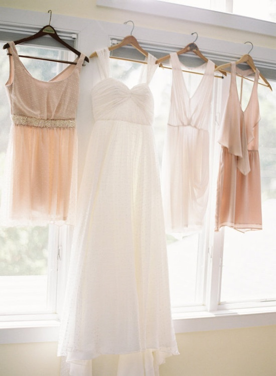 I want my bridesmaids dresses like this