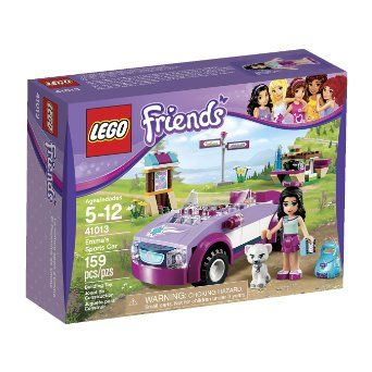 Amazon.com: LEGO Friends Emma's Sports Car: Toys & Games