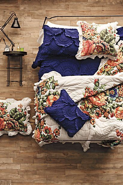 OBSESSED! I want this ALL !!! so so so so in LOVE! Anthropologie Bedding #Anthropologie #PinToWin