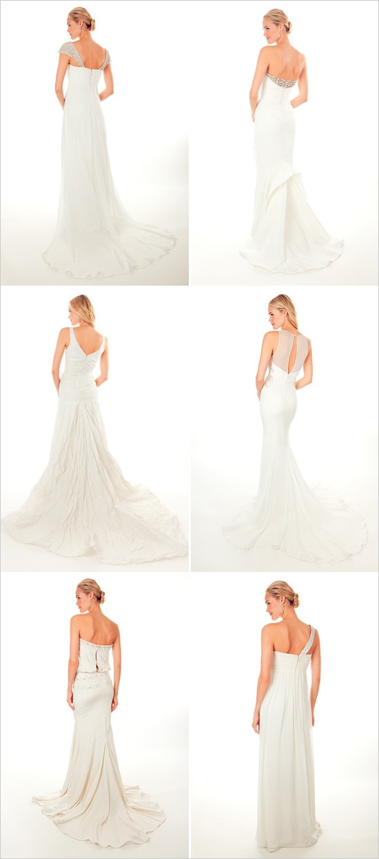 It's all about the back! Nicole Miller 2013