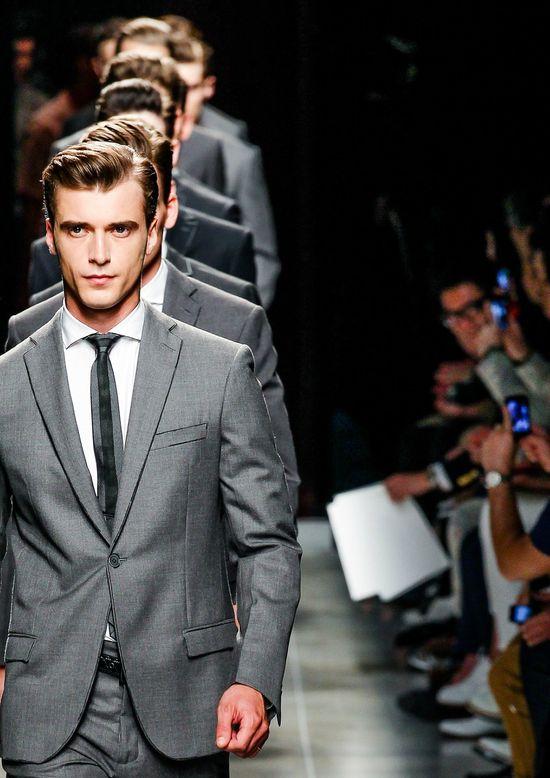Finale at Bottega Veneta menswear s/s 2014