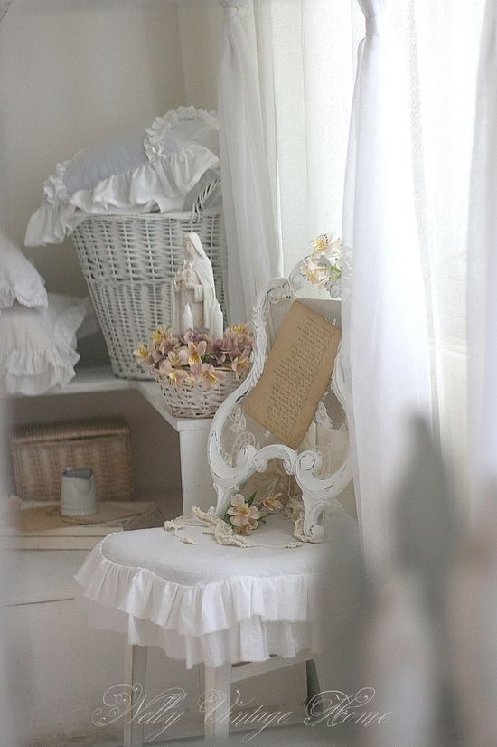 Shabby Chic - ideasforho.me/... -  #home decor #design #home decor ideas #living room #bedroom #kitchen #bathroom #interior ideas