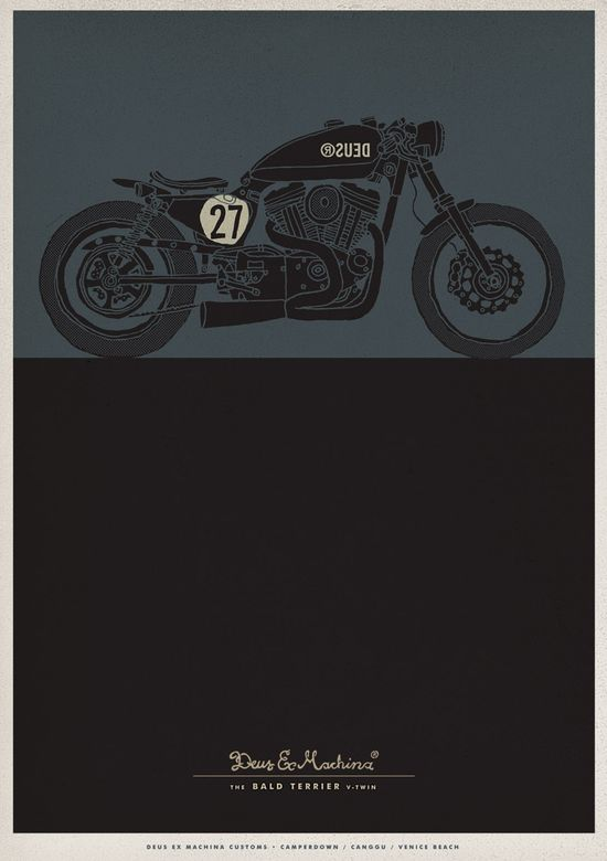 deus, motorcycle, custom, bike, cafe,racer