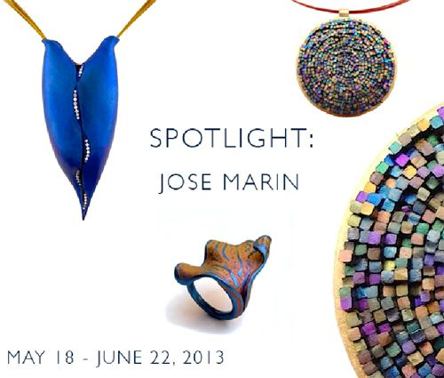 Jose Marin: Spotlight  - Mobilia Gallery (Cambridge, United States)  18-May-2013 - 22-Jun-2013    website: www.mobilia-gallery.com