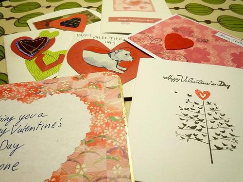 handmade valentine cards