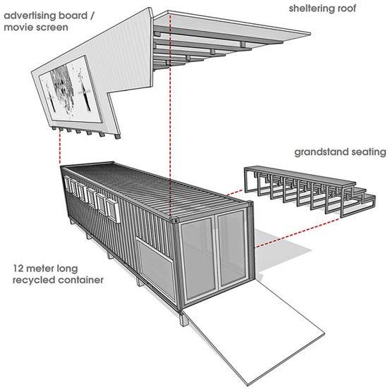 tsai design studio shipping container