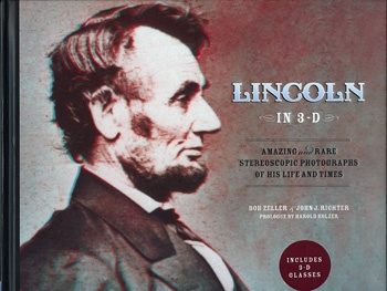 Lincoln in 3-D Book Cover