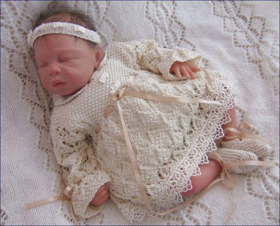 Baby Knitting Pattern, via Etsy.