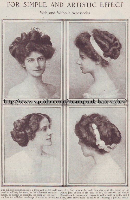 old fashioned hairstyles