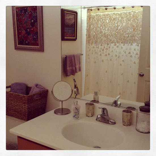 Anthropologie home bathroom decor