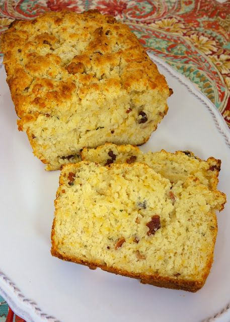 """Cracked-Out"" Beer Bread - loaded with cheddar, bacon and ranch"