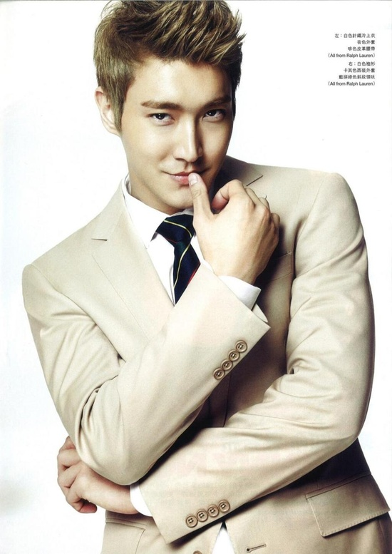 ELLE MAN Hongkong Magazine March – Choi Siwon