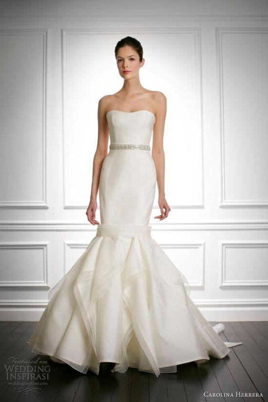 Carolina Herrera Bridal Fall 2013 Collection
