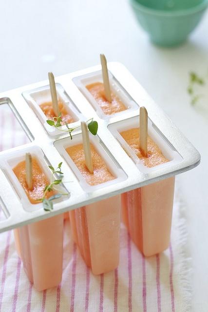 melon ice pops