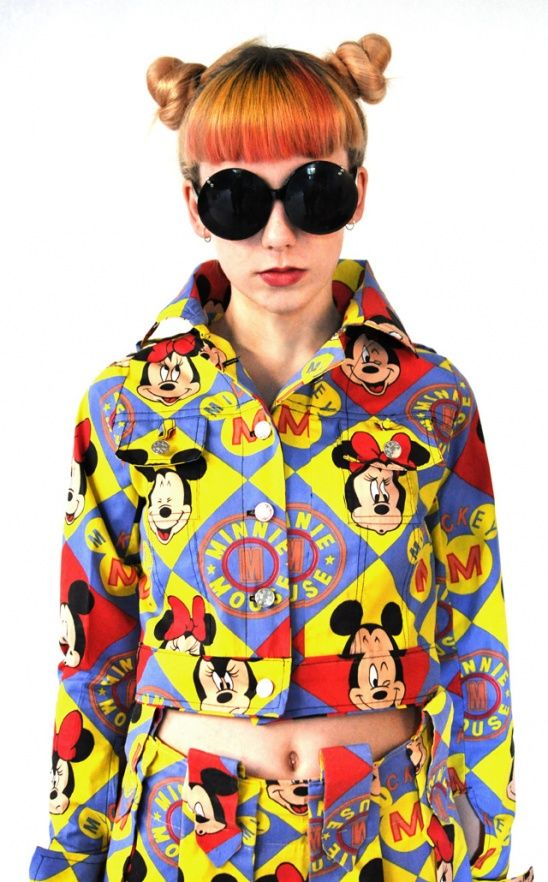 Mickey Mouse Outfit ? #kollabora #mickeymouse #sewing #diy #fashion #cartoon #jacket