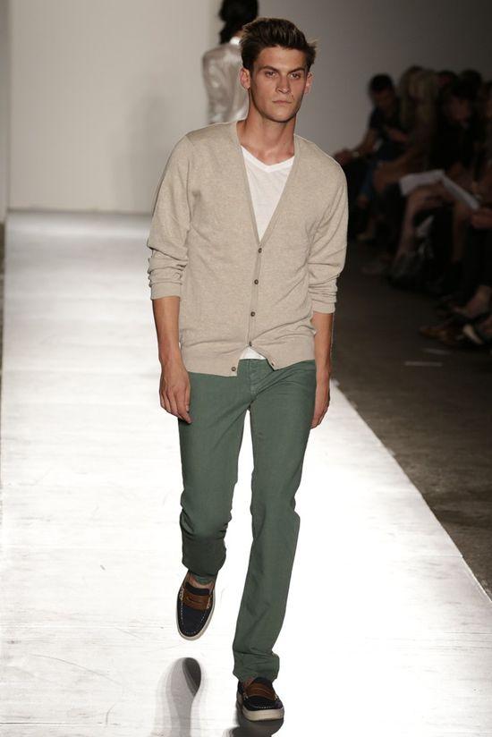men's fashion 2013 summer - excellent rich color for the pant.