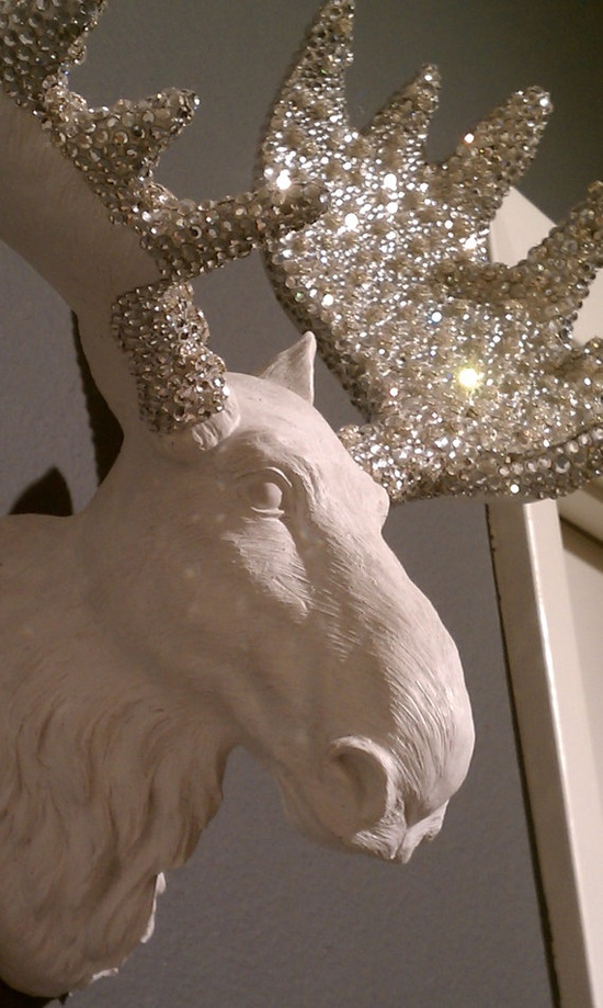 sparkly moose. kind of really love...