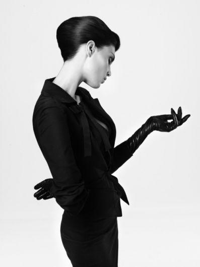 Merde! - Fashion photography  #woman, #sensual, #fashion, #photography, #blackandwhite, #black, #white, #posing