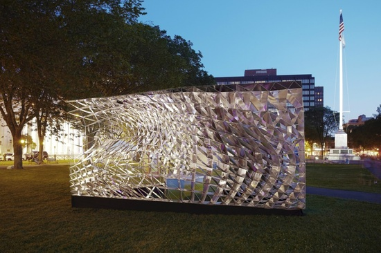 Assembly One Pavilion / Yale School of Architecture Students (4)