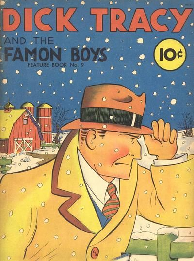 Dick Tracy comics.