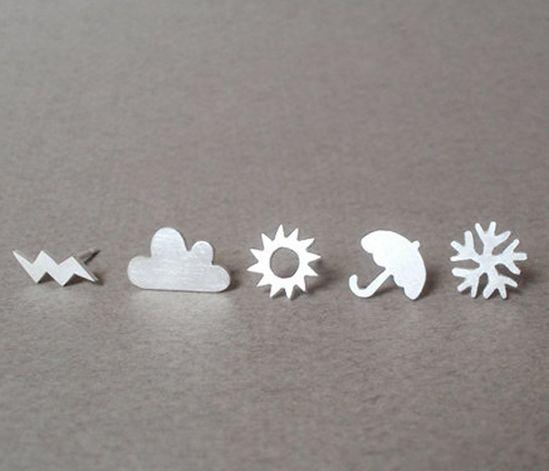 Weather Earrings Set.