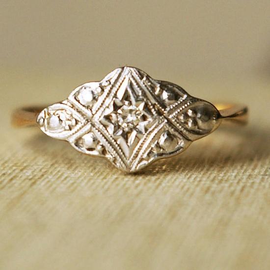 Vintage diamond ring.