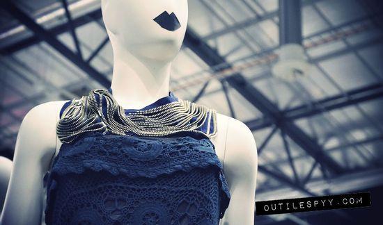 Trashion exhibition DIY fashion OutsaPop Trashion / Outi Les Pyy