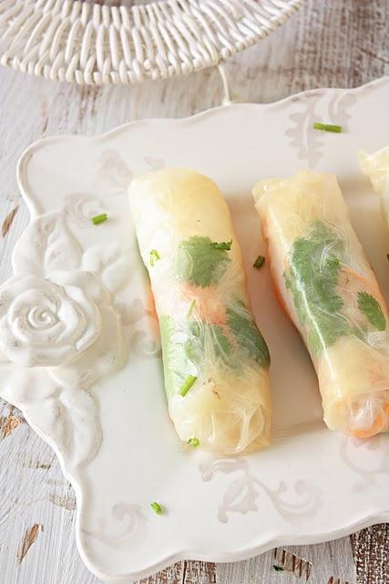 #FOod Spring Rolls