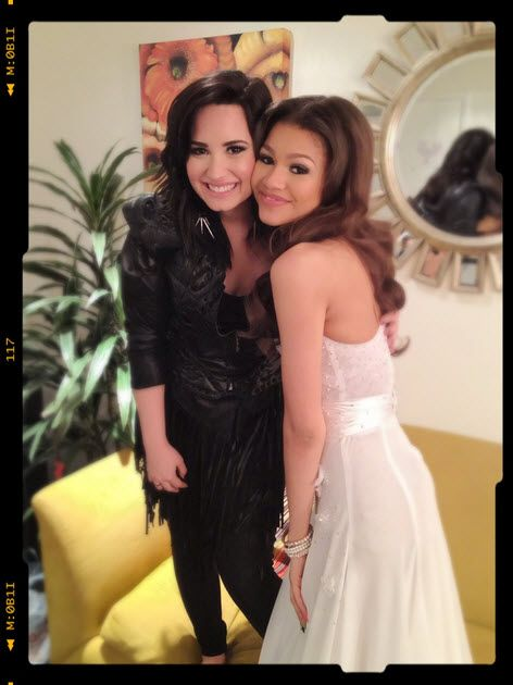 Demi Lovato and Zendaya