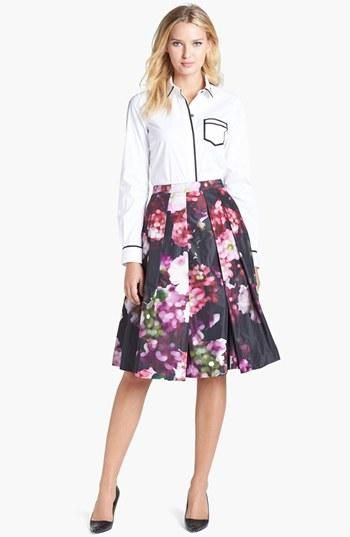 Floral skirt please!