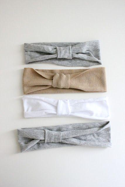 easy knit headbands!