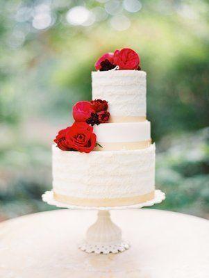 REVEL: Scarlet Wedding Cake