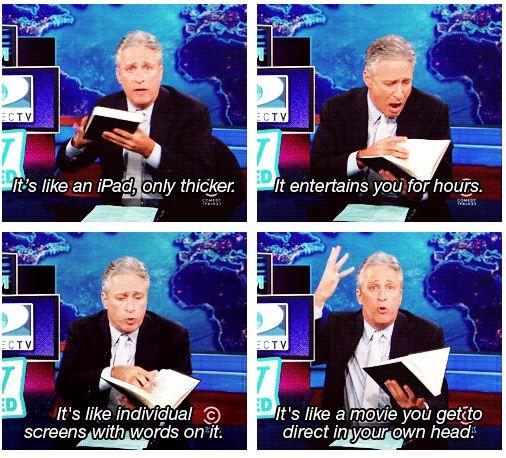 Books, they're like magic!